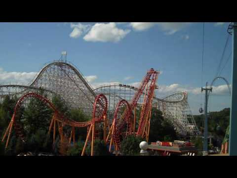 Six Flags New England Video