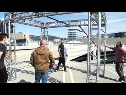 Brick Mansions: Parkour Press Demo Part 2 of 2 - RZA