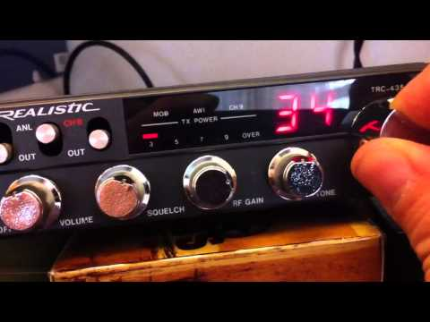 Realistic TRC-435 - 40 Channel CB Radio