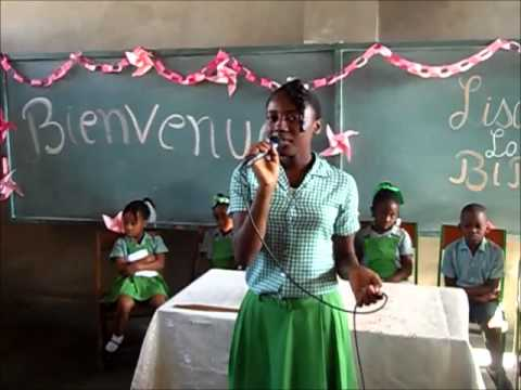 College adventiste du canap vert chapelle part1 youtube for College canape vert haiti