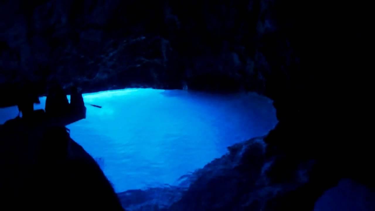 Blue Cave - Bisevo Island - Croatia - HD 720p - YouTube