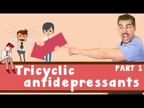Tricyclic antidepressants (TCA) Pharmacology *Part 1*