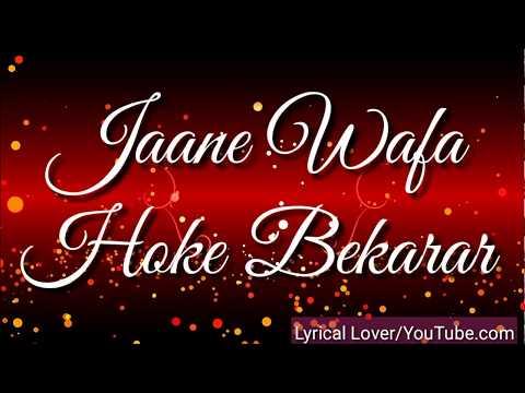 Jaane Wafa Hoke Bekarar....| Kuch Kuch Hota Hain | Female Version | Whatsapp Status |