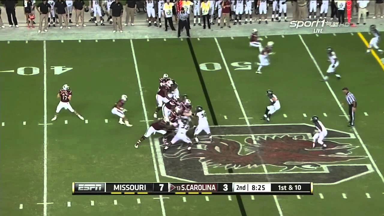 Brandon Shell vs Missouri (2014)