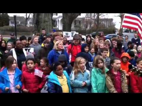 Pine Point School Peace MLK March - 01/13/2012