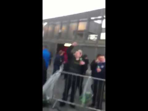 Everton fans | Maggie Thatcher song | Arsenal away