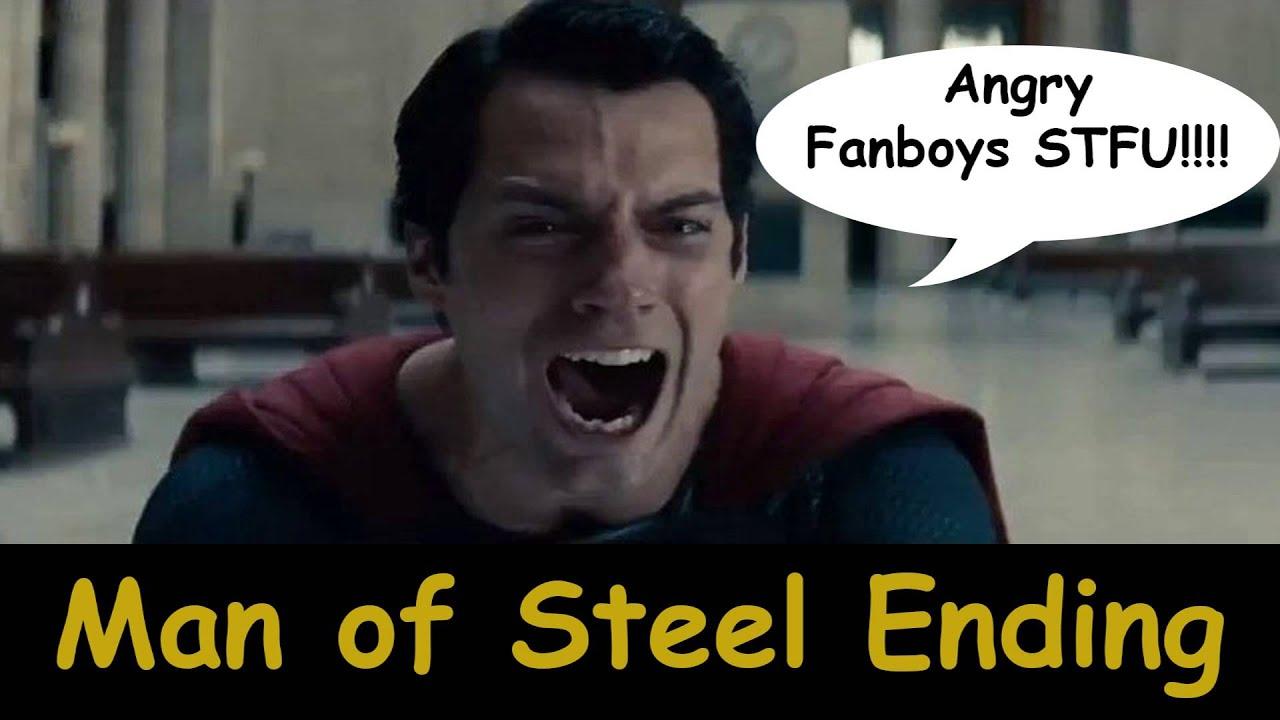 Ending Man of Steel Man of Steel Ending
