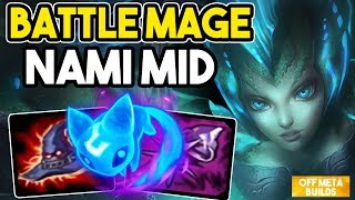FULL ABILITY POWER BATTLE MAGE NAMI AGAINST A DIAM