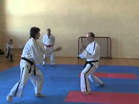 Tong Il Kwan Tang Soo Do: against knife technique vs. knife technique Image 1