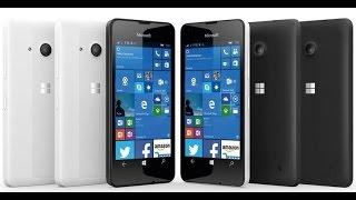 Распаковка и обзор смартфона Microsoft Lumia 550