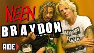 Braydon Szafranski & Neen Williams: Cheeks, Face Tats, Heelflips & more! Weekend Buzz ep. 22