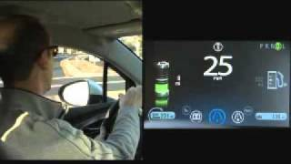 Chevy Volt Configuration Cluster Display