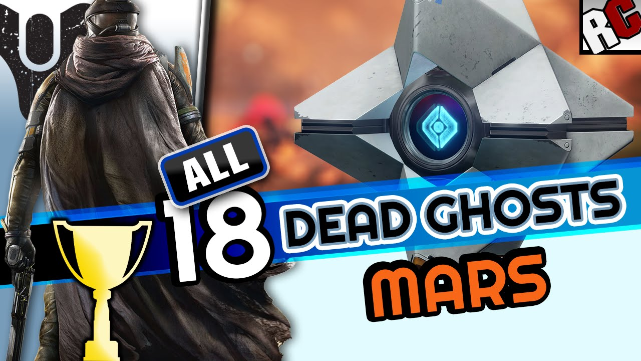 Destiny ghost hunter mars achievement trophy all ghost locations