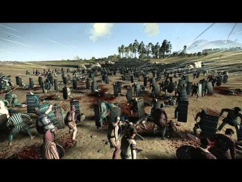 5000 Archers vs 13000 Eastern Spearmen Rome 2 Total War