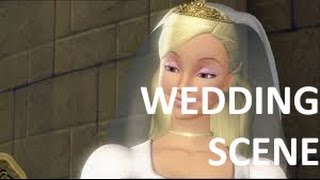 Barbie in the 12 dancing princesses - Wedding Scene (with subs)