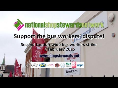NSSN: Bus Workers Strike 5 Feb