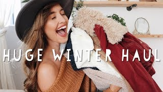 A VERRRRY CUTE WINTER HAUL | Black Friday Sales!