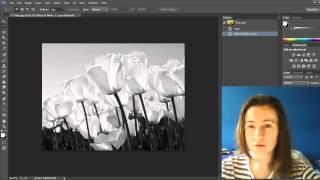 Фотошоп как сделать с цветной черно-белую фотографию