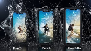 Catalyst Waterproof Case for iPhone Xs, XR and Xs Max