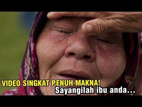 Video Sedih Hari Ibu! Video Kata Sedih Tentang Ibu,Buat Kita Menangis