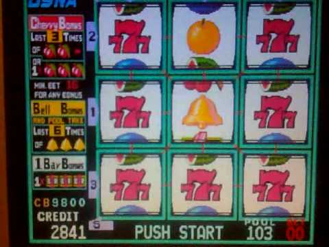 Super 8 line slot machine