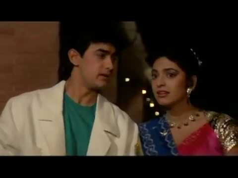 Aamir Khan And Juhi Chawla Kissing Scene - Love Love Love - Romantic Kiss video
