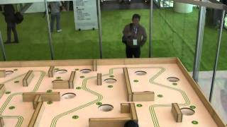 Android-powered labyrinth at Google I/O 2011