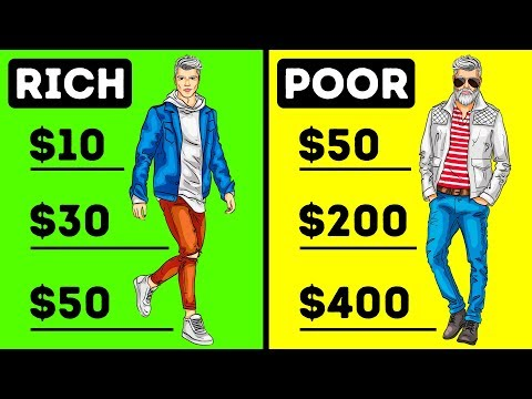 7 Main Differences Between Rich and Poor People