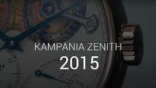 Zenith 150th Anniversary: Manufacture
