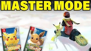 Pokemon Let's Go MASTER DIFFICULTY CONFIRMED! THE BIGGEST POKEMON NEWS EVER!