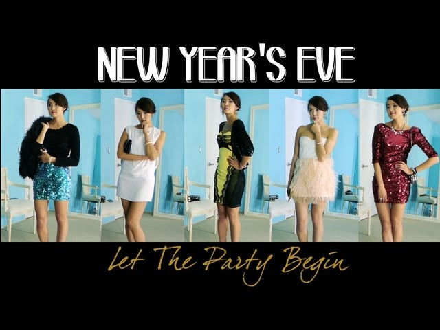 New Years Eve Looks - Let the Party Begin