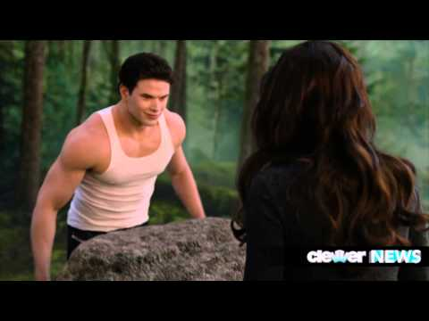 Bella Arm Wrestles Emmett - Breaking Dawn Part 2 Clip!