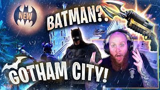 *NEW* BATMAN/GOTHAM CITY IS IN FORTNITE!?! - Fortnite Battle Royale