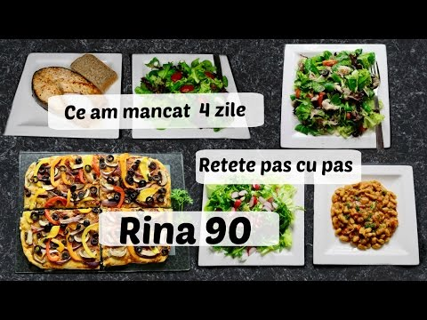 Ep 1 /Ce Mananc In 4 Zile De Rina / Retete Dieta Rina 90 /Dieta Rina/ What I Eat To Lose Weight /