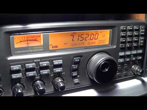 HB9KNA switzerland amateur radio station on 40 meters