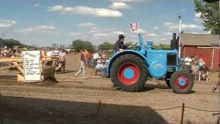 Lanz bulldog tractor full pull 02 24