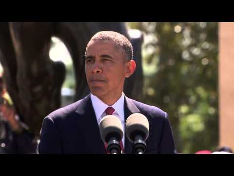 D-Day 70th Anniversary Commemoration Ceremony (President Obama's Speech)