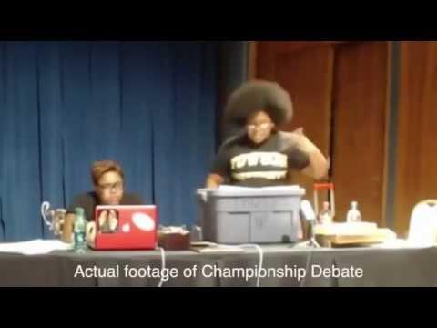 American debate summarized in under 8 seconds