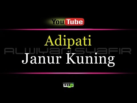 Karaoke Adipati - Janur Kuning