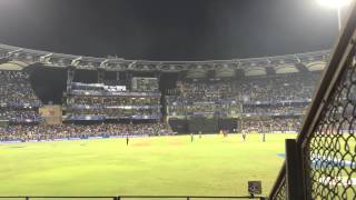 Harbhajan's Hattrick ball - Pepsi IPL 2015 Right from Wankhede stadium
