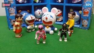 Siêu nhân doremon tập 1,2,3,4 đồ chơi trẻ em doraemon toy for kids