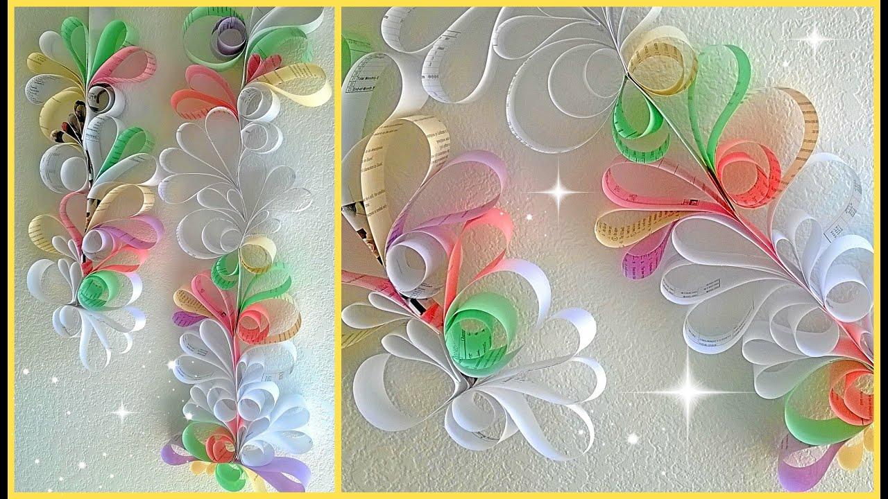 Pretty Decorative Paper Paper Swirls Room Decoration