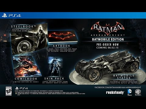 Road to Arkham Knight - Release Date & Collectors Edition News