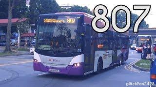 [SBST] SBS8083J on Service 807 - Scania K230UB Euro IV Gemilang