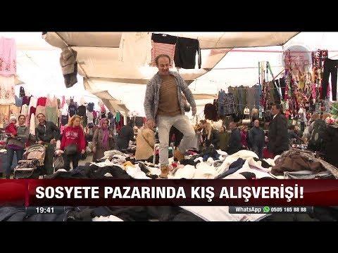 Sosyete pazarında kış alışverişi! -16 Kasım 2017