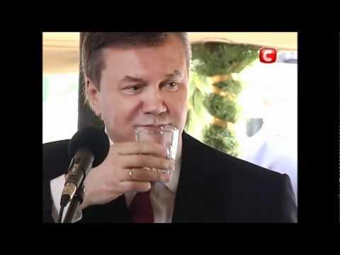 Тимошенко за решеткой. Янукович празднует.wmv
