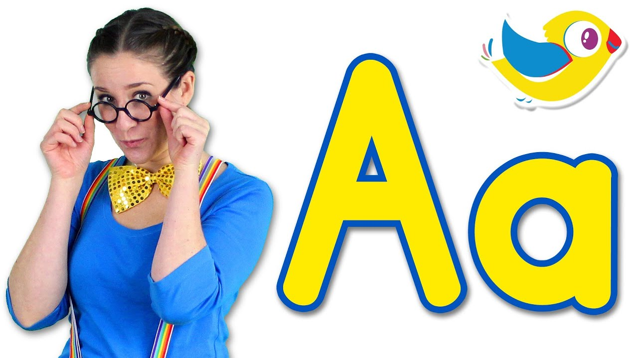 ABC Song: The Letter A Song - Learn the Alphabet - YouTube
