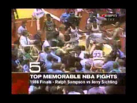 Top 10 fights in NBA history