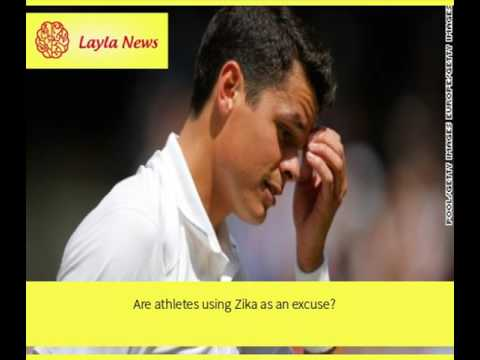 Are athletes using Zika as an excuse? |  By : CNN