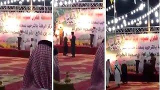 مطلوب أمني يلقي قصيدة في حب الوطن .. والجهات الأمنية توقفه